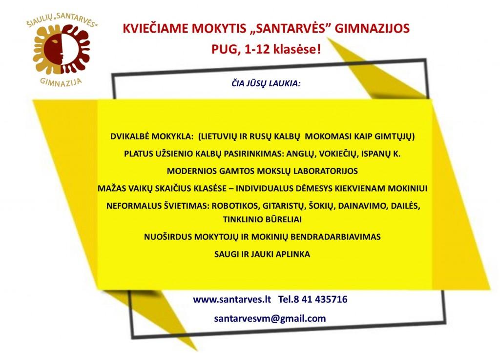 KVIEČIAME MOKYTIS 20-21 m.m-2