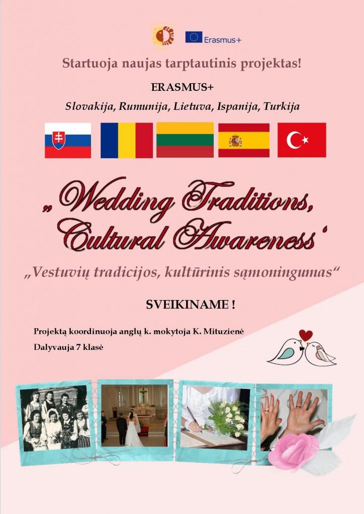 Vestuvių tradicijos, kultūrinis sąmoningumas