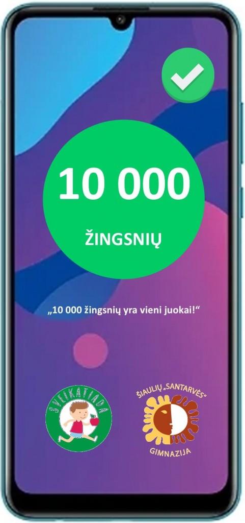 10 000 ŽINGSNIŲ