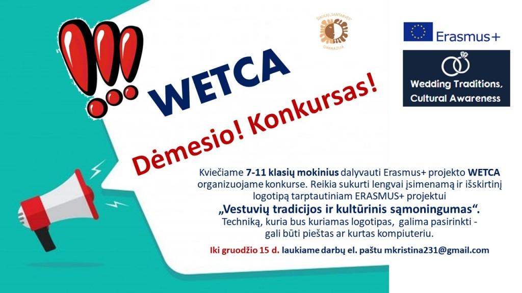 WETCA (logotipo konkursas)